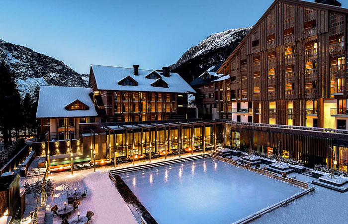 The Chedi Hotel Snowy Mountains