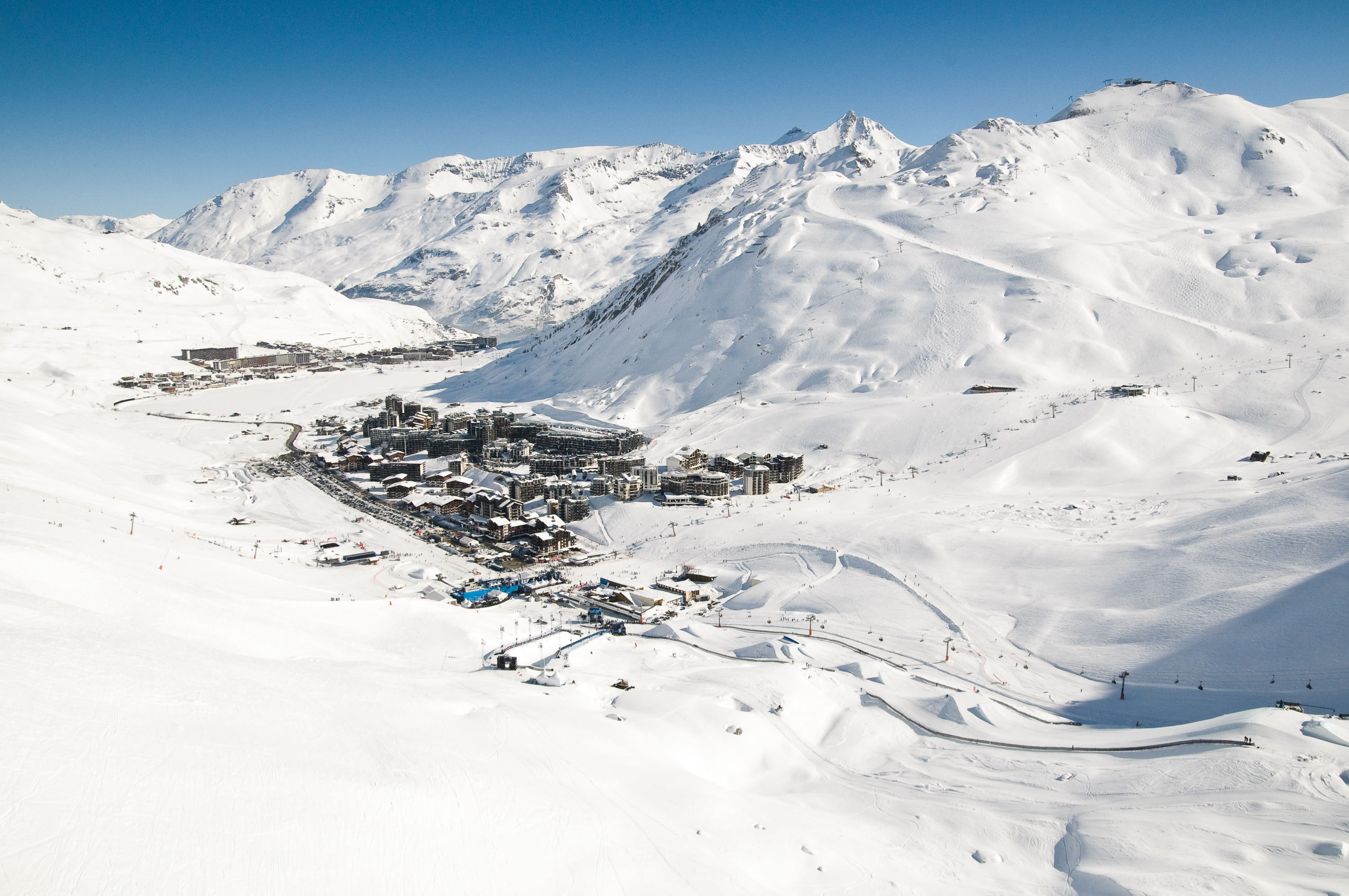 Tignes resort