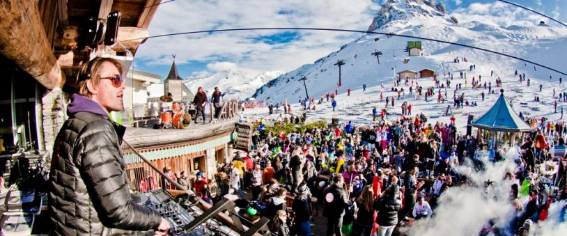 Folie Douce best apres ski bar