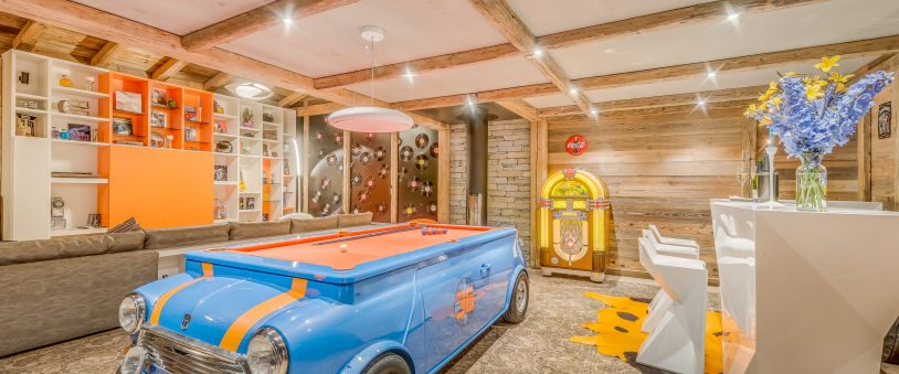 Luxury chalets for families