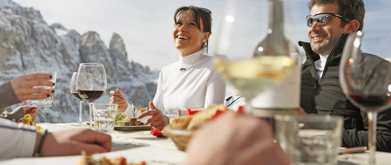 Foodie ski resorts