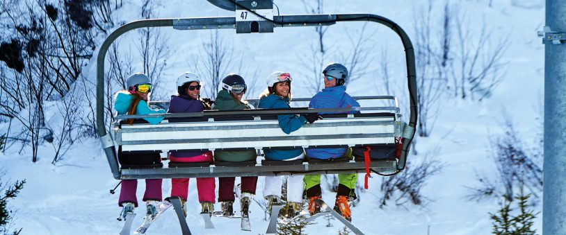 Chairlift group