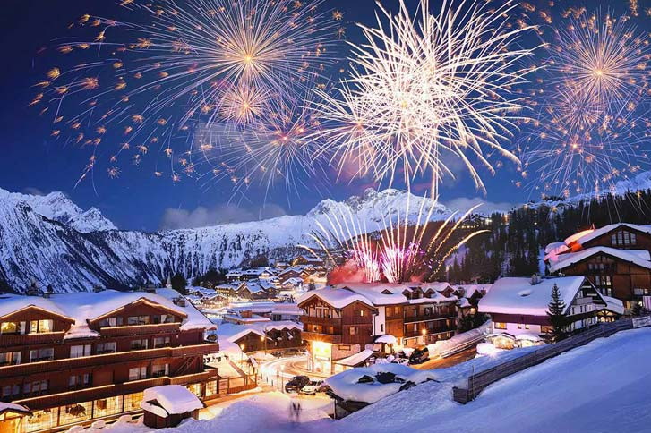 Courchevel-At-New-Year