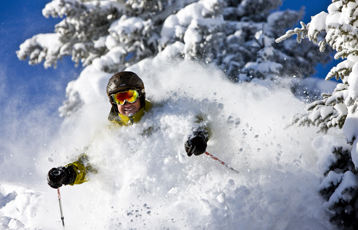 Vail deep powder