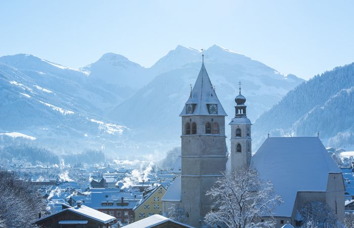 Kitzbuhel's beautiful town