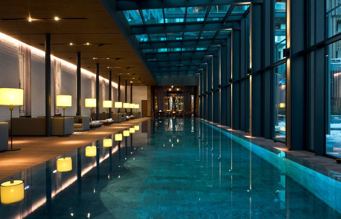 The Chedi Spa and Swimming Pool