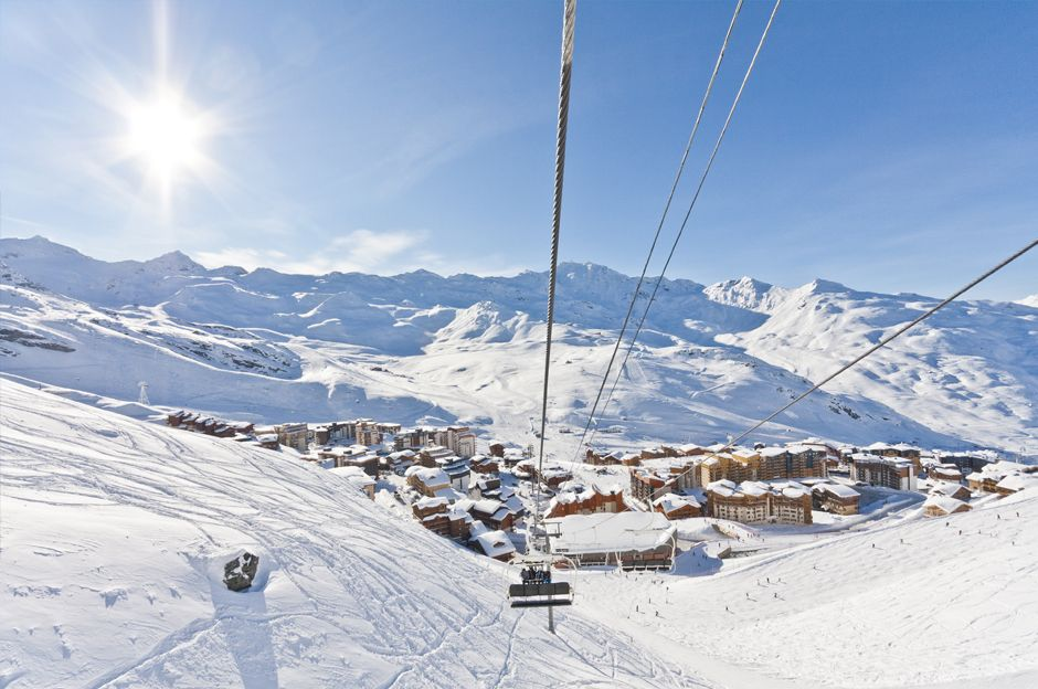 Best late season skiing - Val Thorens