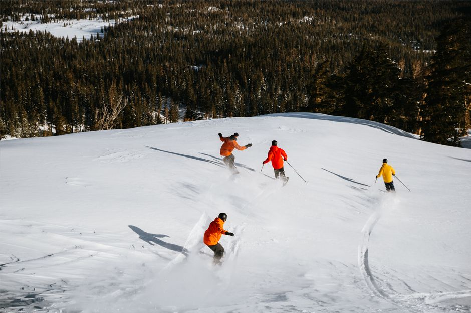Best ski resorts for late season - Mammoth