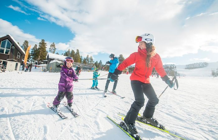 Ski holidays with toddlers