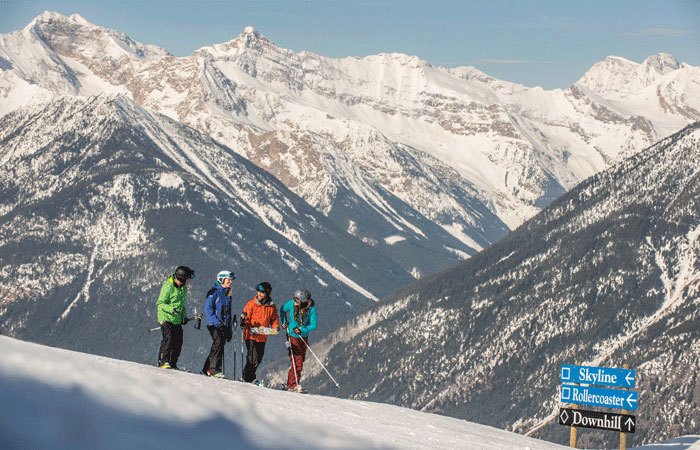 A crowd-free family ski holiday in Panorama