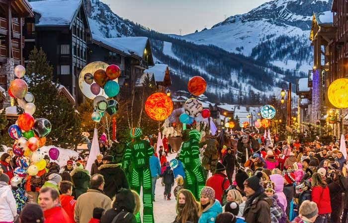Christmas in the Alps, Val d'Isere - Andy Parat