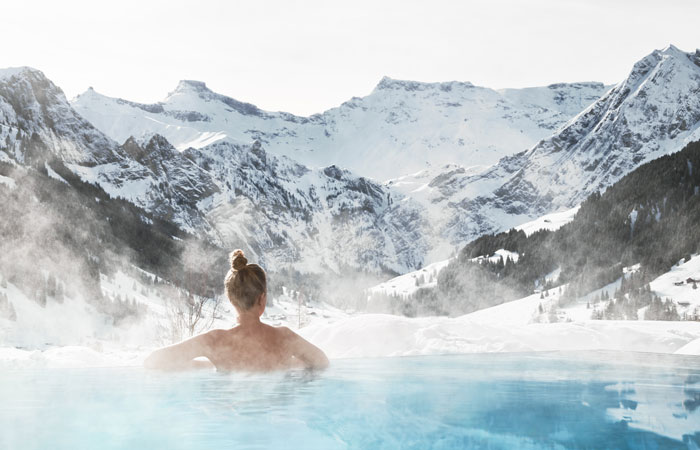 Winter Pool © The Cambrian