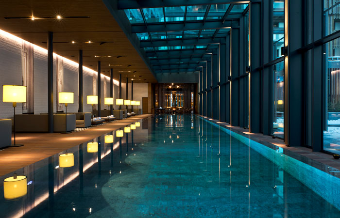 The Chedi, one of the best spa hotels for the weekend