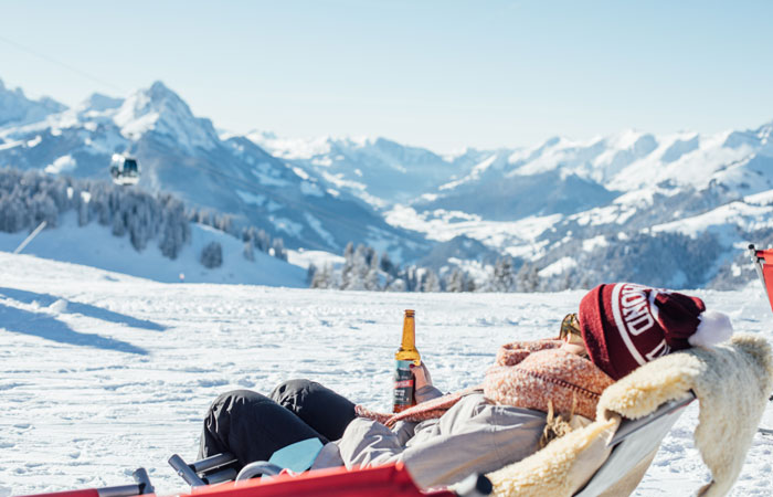 Après ski in Gstaad © Gstaad Tourism