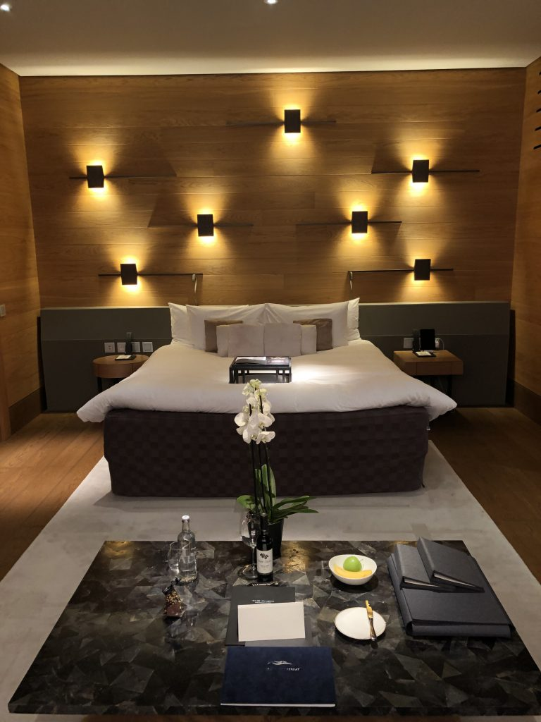 A double room at The Chedi