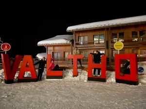 Val Thorens sign
