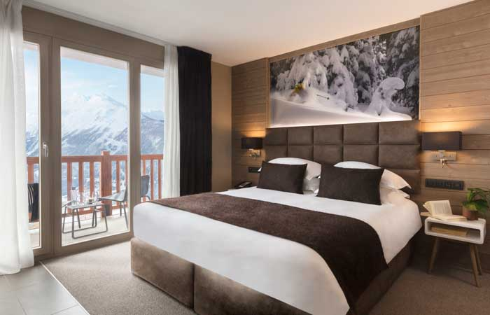 Where to stay on a La rosiere ski holiday