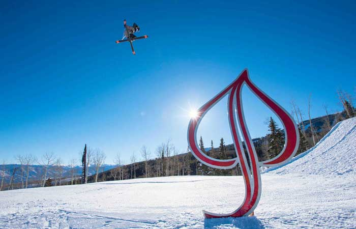 Skiing with the pros in Aspen Snowmass
