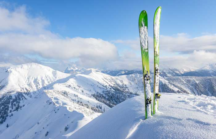 Green ski resorts