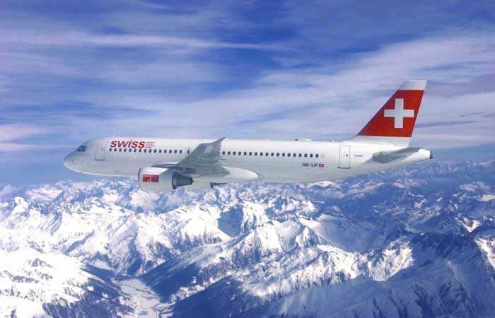 Airbus A320 to the mountains