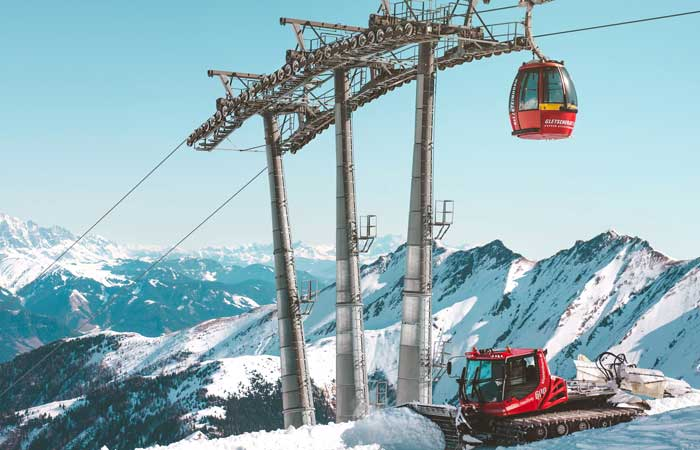 Sustainable ski resorts, Kaprun