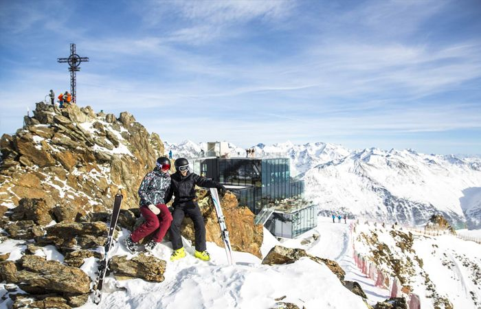Highest altitude ski resorts Europe - Solden