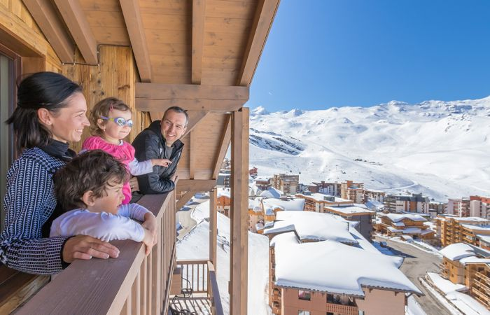 Highest ski resorts in Europe - Val Thorens