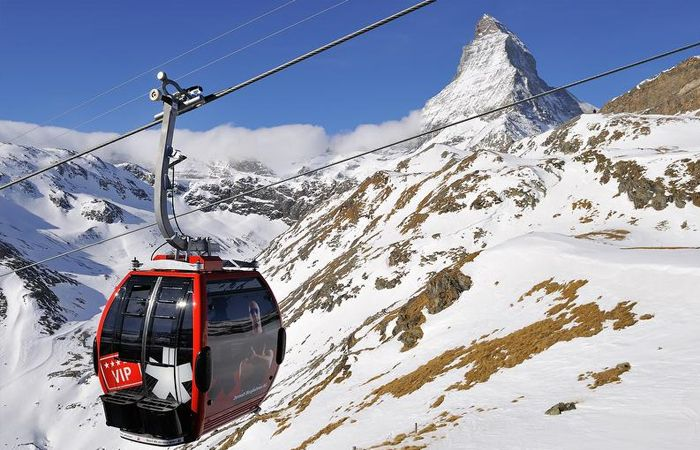 Highest skiing in Europe - Zermatt