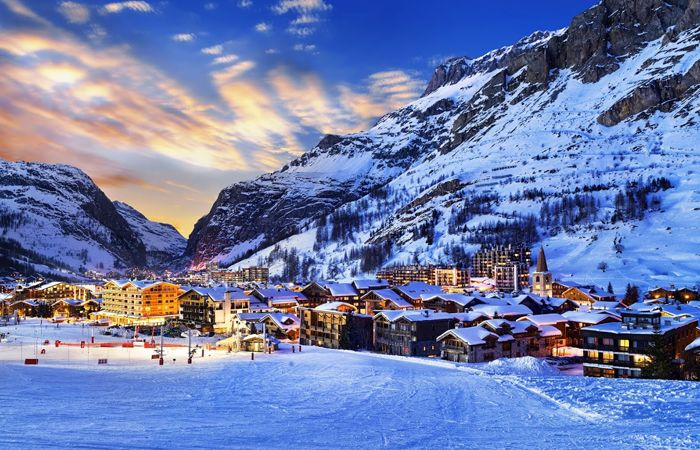 Top 10 ski resorts in Europe