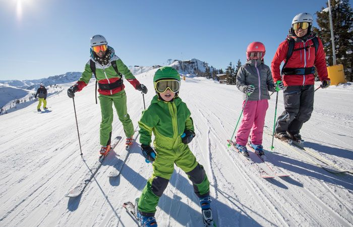 Best family ski resorts in Austria