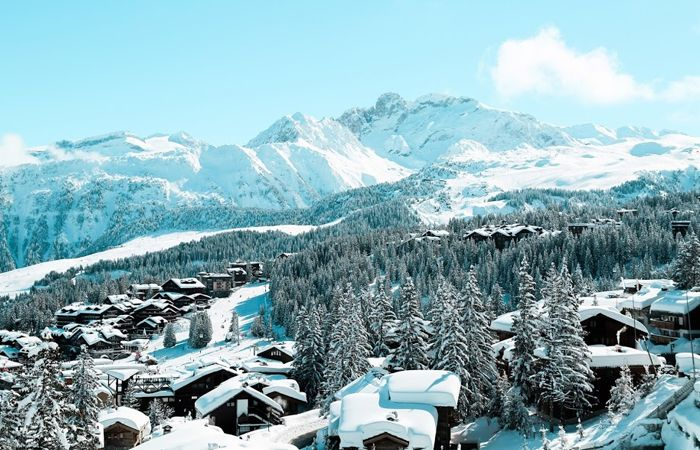 Courchevel - One of the Biggest Ski Areas in France