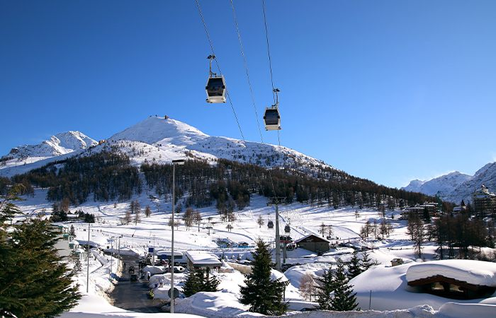 best places to ski in Italy