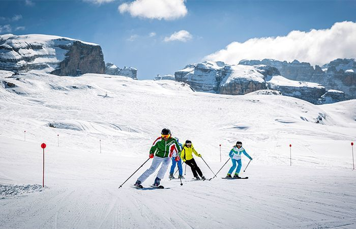 Best ski areas in Italy