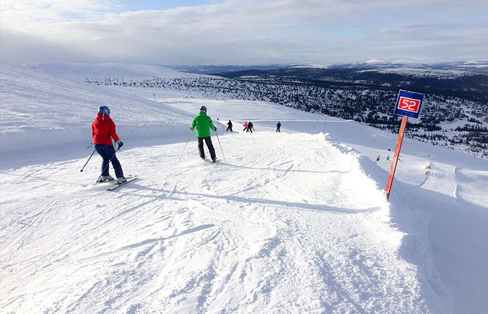 Trysil - One of the quietest ski resorts at half term