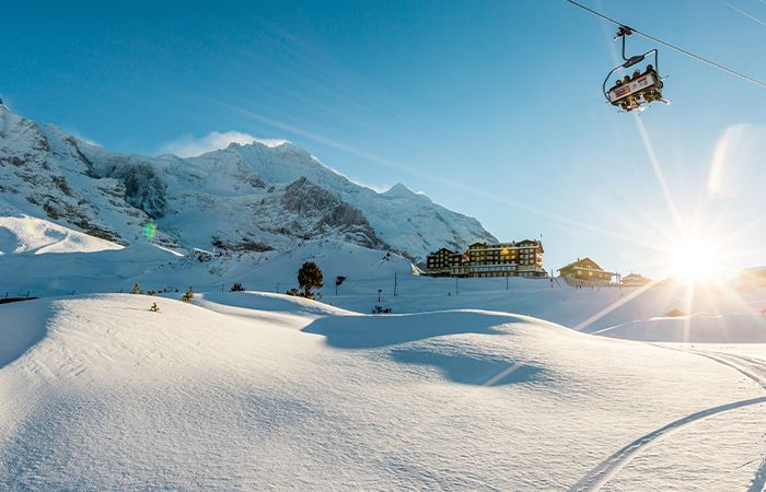 Wengen - One of the quietest ski resorts at half term